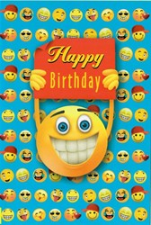"Bild von Smiley Grußkarte ""Happy Birthday"""