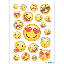 Bild von HERMA Sticker Happy Smile, Transpuffy