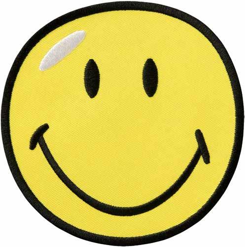 Bild von Mono-Quick Applikationen Smiley® gelb