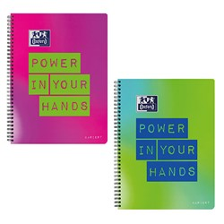 "Bild von Oxford Collegeblock ""Power in your Hands"", DIN A4+, kariert"